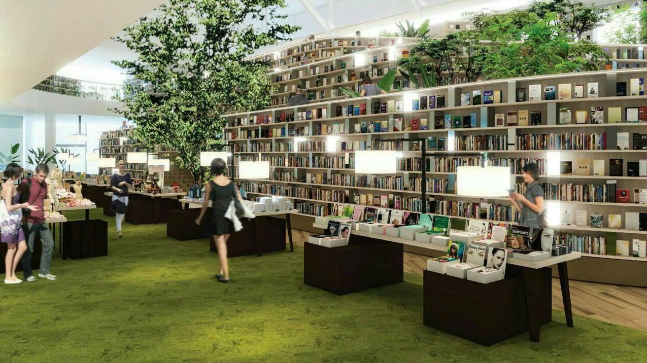 bookstore THINK SPACE B2S ร้านหนังสือ แรงบันดาลใจ