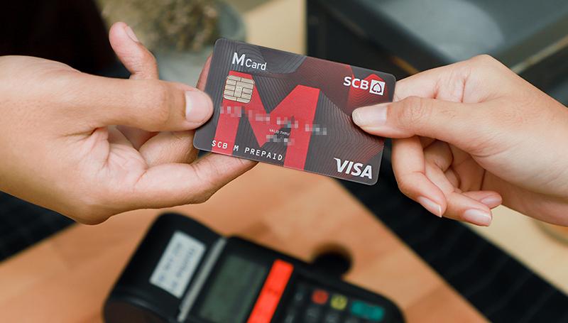 SCB SCB M Prepaid The Mall บทความการเงิน บัตรเครดิต เคล็ดลับการใช้เงิน