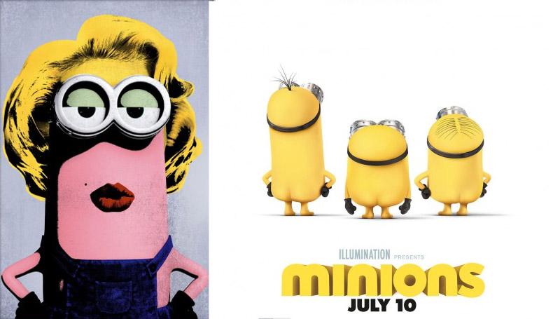 Minions Poster มินเนี่ยน โปสเตอร์