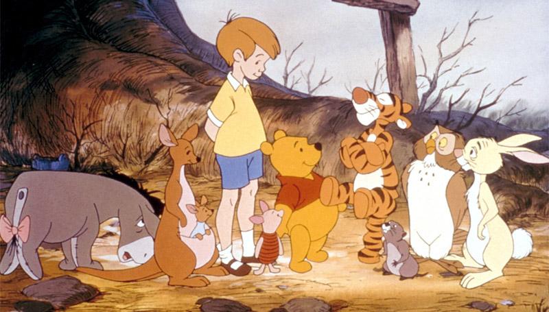 pooh การ์ตูน ข้อมูลการ์ตูน หมีพูห์