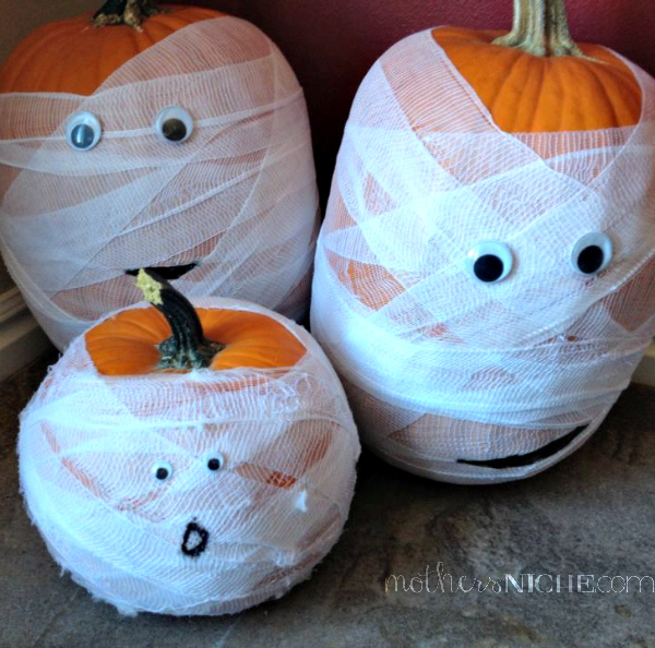 mummy-pumpkins