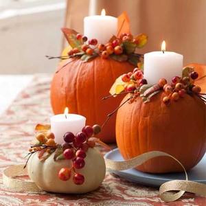 pumpkin-candleholders