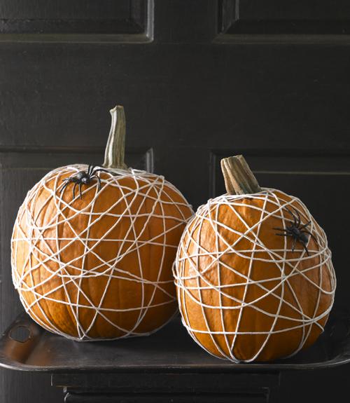spider-web-pumpkins