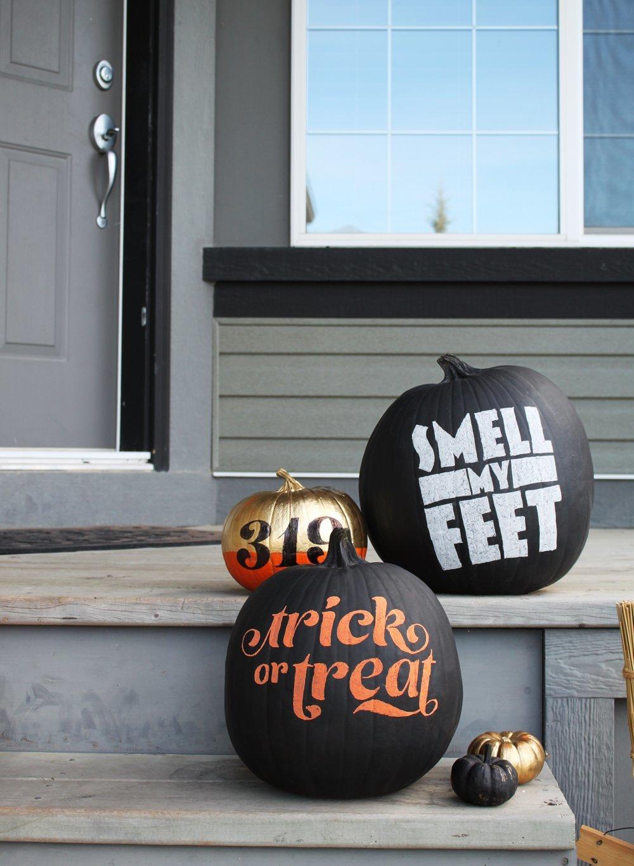 word-pumpkins