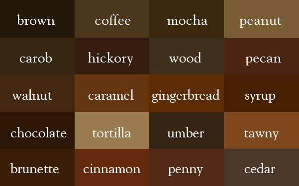 การเรียกชื่อทุกเฉดสีเป็นภาษาอังกฤษที่ถูกต้อง ที่ทุกคนควรรู้ไว้