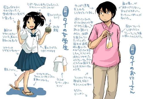 ชุดนักเรียนไทย ในสายตาคนญี่ปุ่น