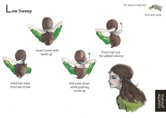 ตัวอย่างการมัดผมแบบต่างๆ (2)