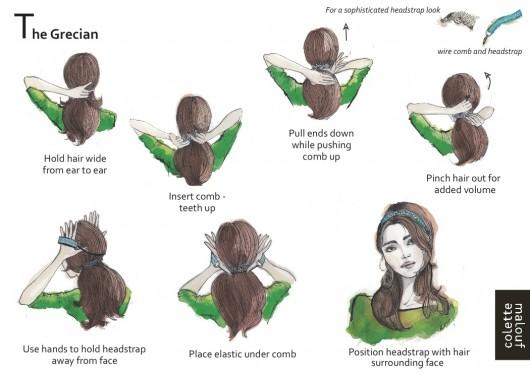 ตัวอย่างการมัดผมแบบต่างๆ (5)
