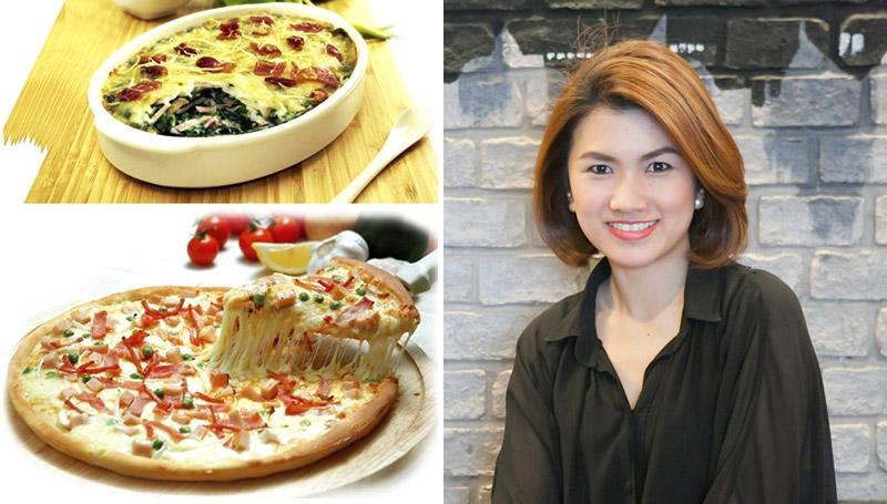 pizza นารายณ์พิซซาเรีย พิซซ่า ม.เอแบค ร้านอาหาร