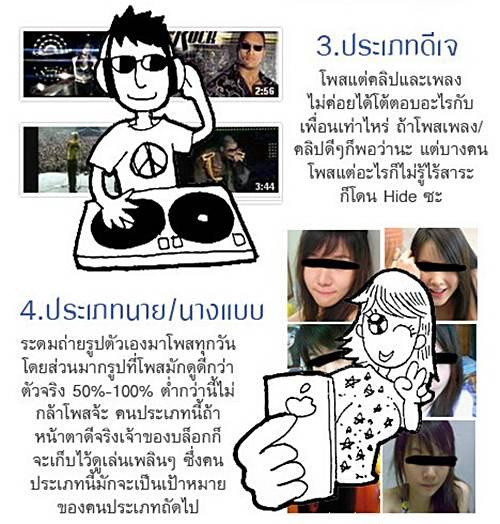 คนประเภทต่างๆ บน Facebook (2)
