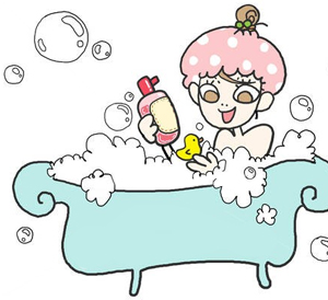 ความแตกต่าง ระหว่างการอาบน้ำของ หญิง กับ ชาย 2
