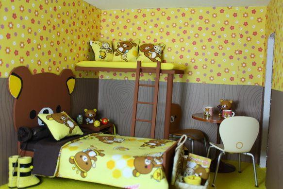 ตกแต่งห้องนอนธีมเจ้าหมีขี้เกียจ rilakkuma น่ารักสุดๆ 1