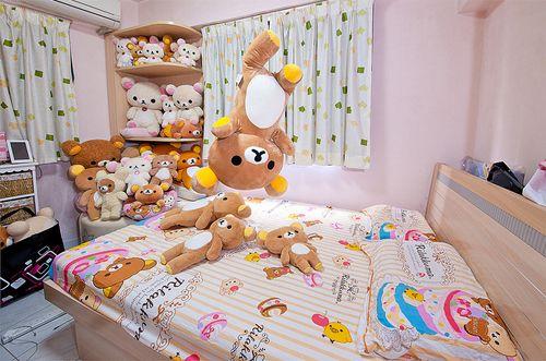 ตกแต่งห้องนอนธีมเจ้าหมีขี้เกียจ rilakkuma น่ารักสุดๆ 2
