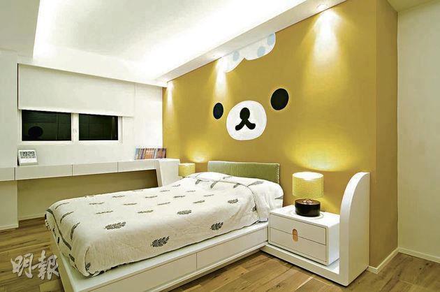ตกแต่งห้องนอนธีมเจ้าหมีขี้เกียจ rilakkuma น่ารักสุดๆ 3