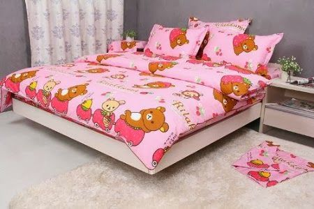 ตกแต่งห้องนอนธีมเจ้าหมีขี้เกียจ rilakkuma น่ารักสุดๆ 4