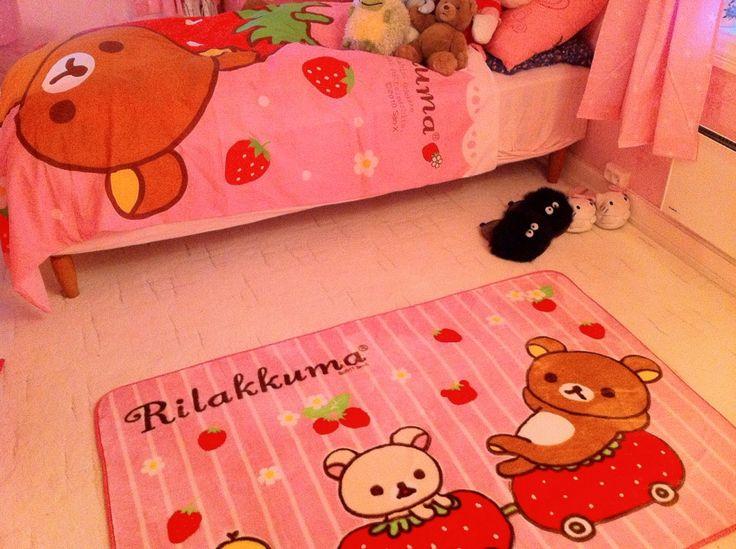 ตกแต่งห้องนอนธีมเจ้าหมีขี้เกียจ rilakkuma น่ารักสุดๆ 7