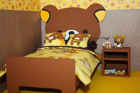 ตกแต่งห้องนอนธีมเจ้าหมีขี้เกียจ rilakkuma น่ารักสุดๆ 9