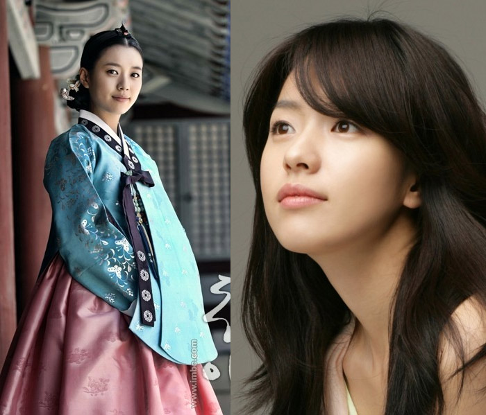 จอมนางคู่บัลลังก์ ซีรีส์เกาหลี ดาราเกาหลี ทงอี สาวน่ารัก ฮันฮโยจู