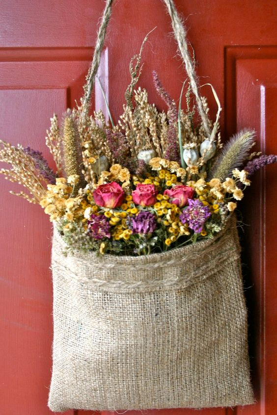 วิธีการทำ ดอกไม้แห้ง น่ารักๆ (3)