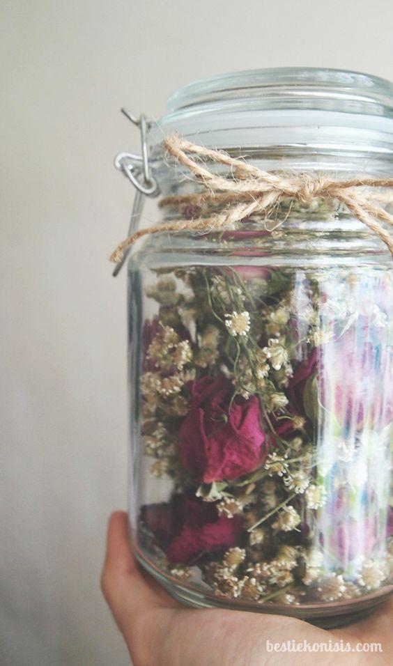 วิธีการทำ ดอกไม้แห้ง น่ารักๆ (4)