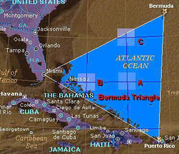 สามเหลี่ยมเบอร์มิวด้า