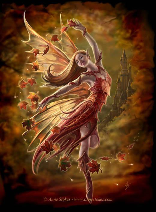 แจกภาพการ์ตูนนางฟ้า มีปีก เทพธิดา 12