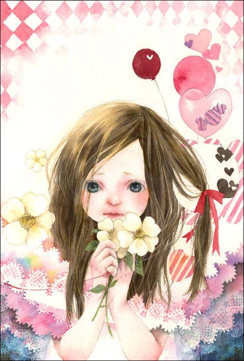 รวมภาพการ์ตูนน่ารักๆ สีสวยๆ