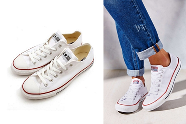 1. Converse : Chuck Taylor All Star Leathe