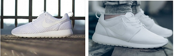 2.Nike : Roshe Run White