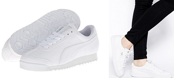 7.PUMA Roma Basic Women's white
