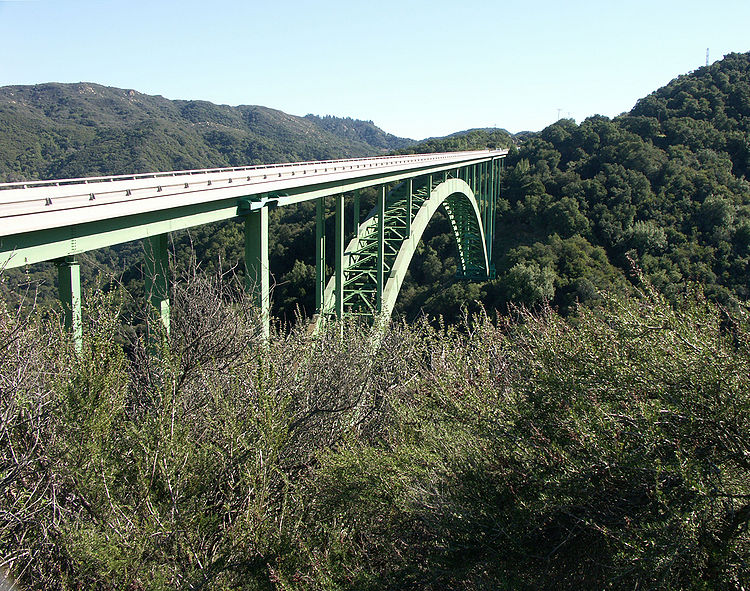 Cold Springs Canyon Bridge