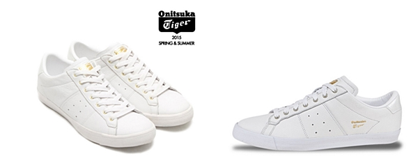 9.Onitsuka Tiger Lawnship White