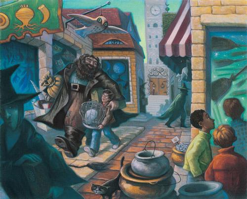 16 ภาพวาด ที่ไม่ได้เผยแพร่จากหนังสือ Harry Potter