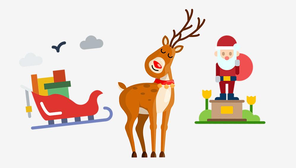 กวางเรนเดียร์ของลุงซานต้า