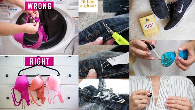 ของใช้ ถุงน่อง มาสคาร่า รองเท้า ลิปสติก วิธีกำจัดกลิ่น เคล็ดลับดีๆ