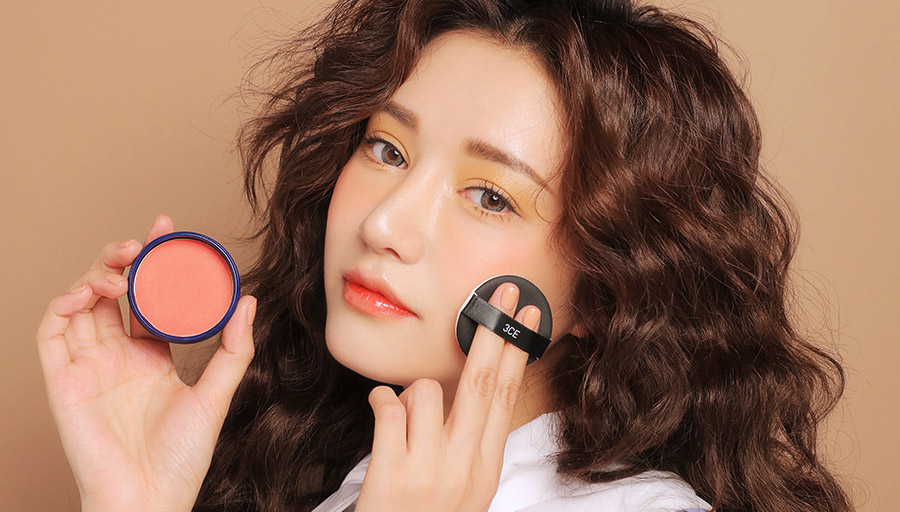 Makeup ทาแก้ม แต่งหน้า