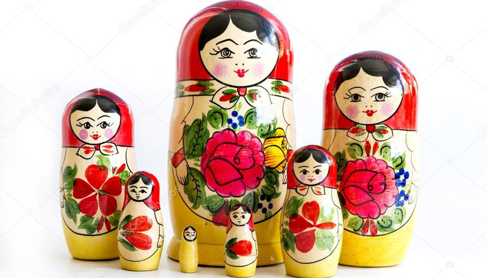 ตุ๊กตารัสเซีย ตุ๊กตาแม่ลูกดก
