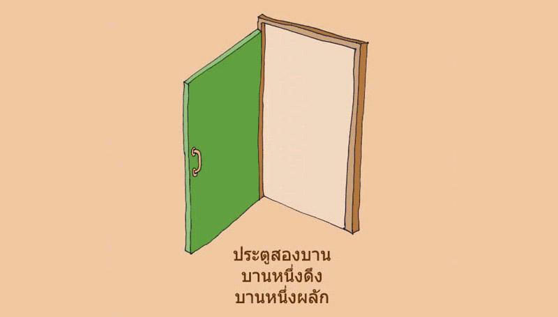 ข้อคิดดีๆ ข้อคิดสอนใจ ประตู