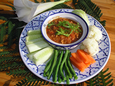 น้ำพริกอ่อง สูตรอาหาร อาหารเหนือ