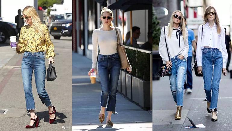 fashion jean กางเกงยีนส์ ยีนส์ รูปร่าง แฟชั่น