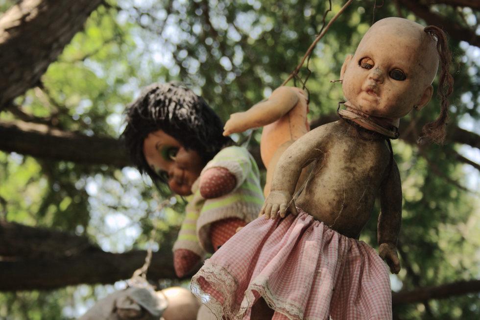 ตุ๊กตา ตุ๊กตาผี ผี เกาะกลางน้ำ เม็กซิโก