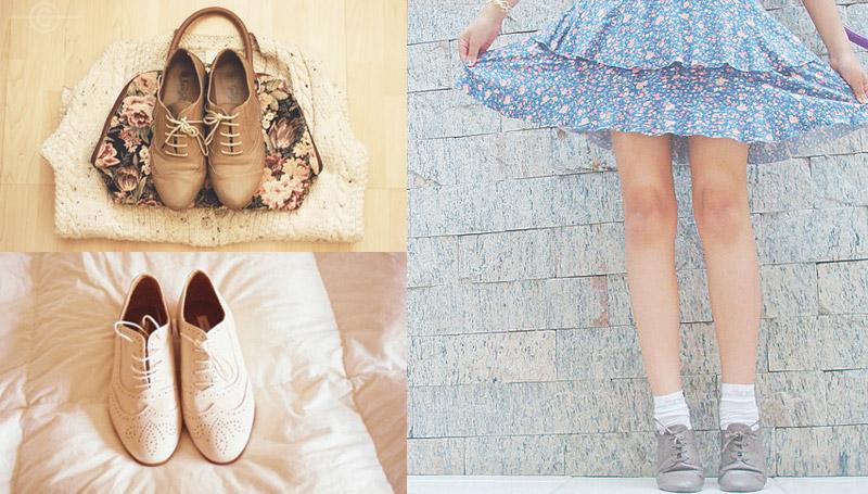 oxfords รองเท้า shoes รองเท้าอ๊อกฟอร์ด