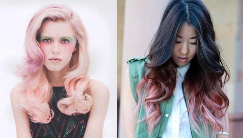 fashion hair pastel ทรงผม ผมสีพาสเทล พาสเทล สีผม เทรนด์สีผม แฟชั่นสีผม