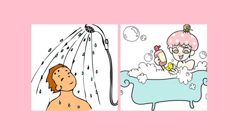 ความแตกต่าง ชายกับหญิง อาบน้ำ
