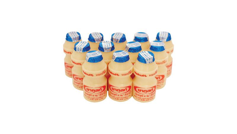 นม นมเปรี้ยว ประวัติ ยาคูลท์