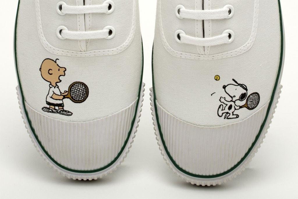 รองเท้าผ้าใบ Peanuts x Bata Tennis