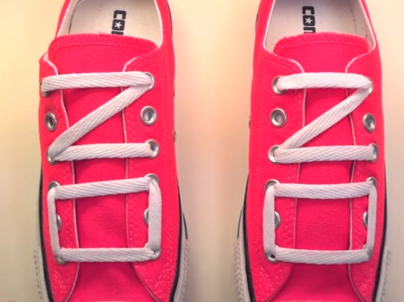 15 วิธี ผูกเชือกรองเท้าแบบแนวๆ