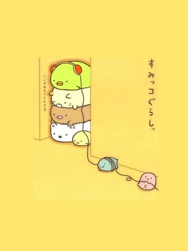แก็งค์มุมห้อง คาแรคเตอร์น่ารักจากญี่ปุ่น