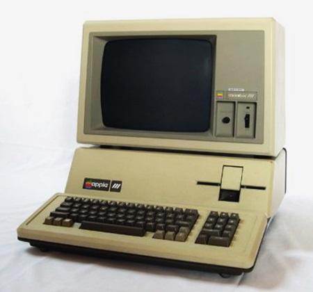 3. Apple III 1980