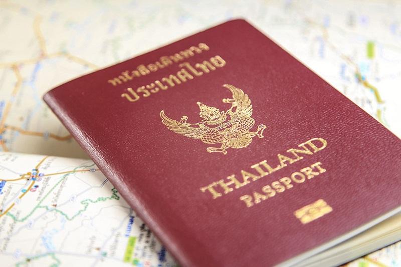 Passport พาสปอร์ต หนังสือเดินทาง